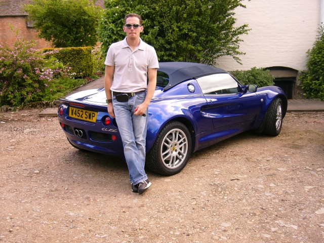 Me on my first day of ownership (looking a bit of an arse if i don't say so myself)